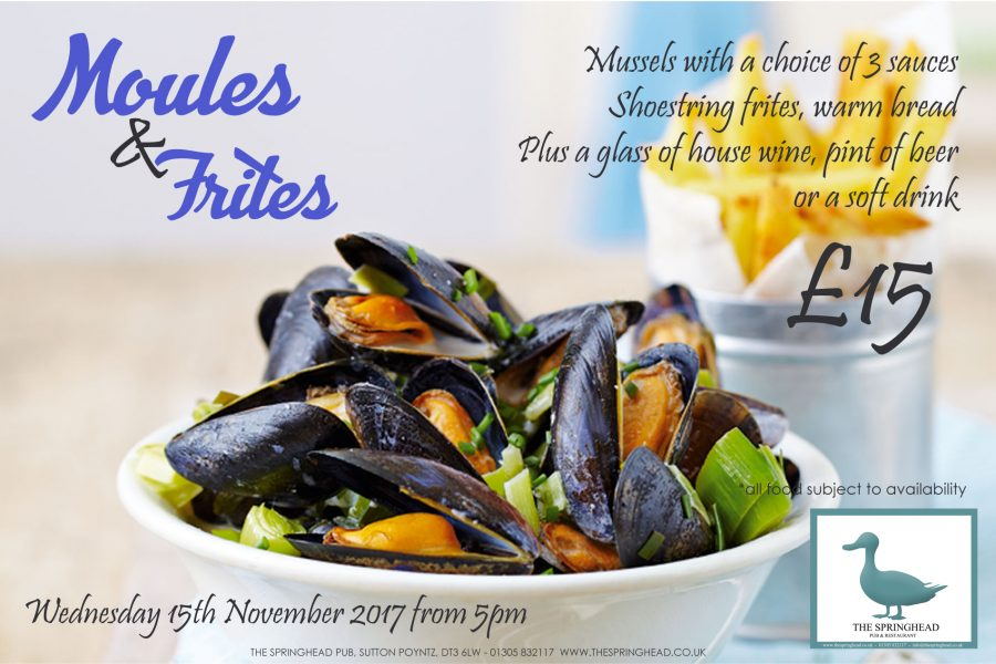 Moules & Frites