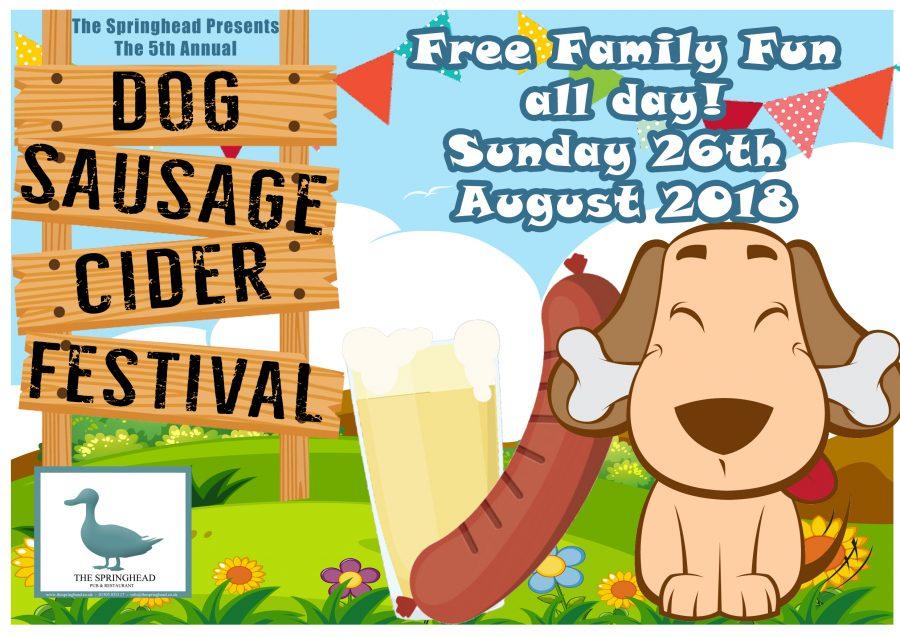 DOG, SAUSAGE & CIDER FEST 2018